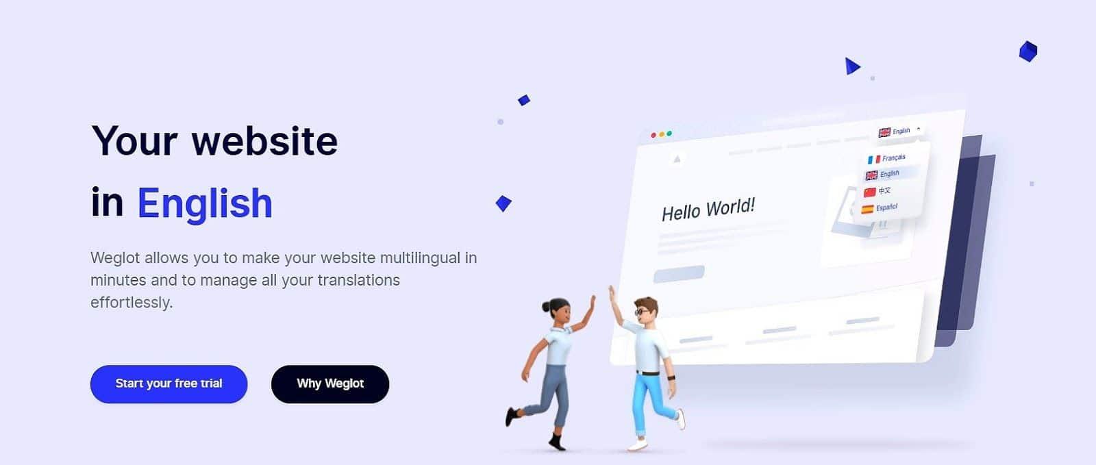 Plugin de traducción automática Weglot