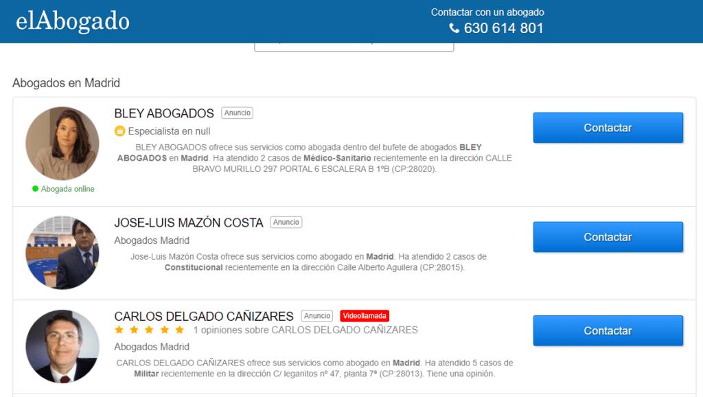ElAbogado.com - Abogados en Madrid